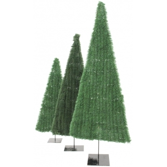 EUROPALMS Fir tree, flat, green, 150cm #3