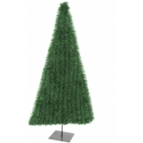 EUROPALMS Fir tree , flat, dark green, 180cm
