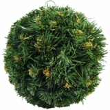 EUROPALMS Christmas ball, green, 20cm