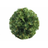 EUROPALMS Christmas ball, green, 25cm