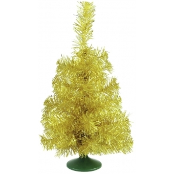 EUROPALMS Table christmas tree, gold, 45cm