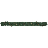 EUROPALMS Noble pine garland with fir cones, 270cm