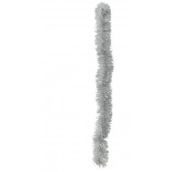 EUROPALMS Tinsel metallic, silver, 7,5x200cm