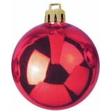 EUROPALMS Deco Ball 7cm, red 6x