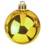 EUROPALMS Deco Ball 7cm, gold 6x