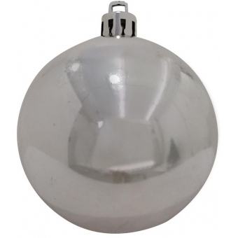 EUROPALMS Deco Ball 7cm, silver 6x