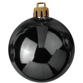EUROPALMS Deco Ball 7cm, black 6x