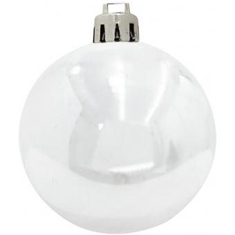 EUROPALMS Deco Ball 7cm, white 6x