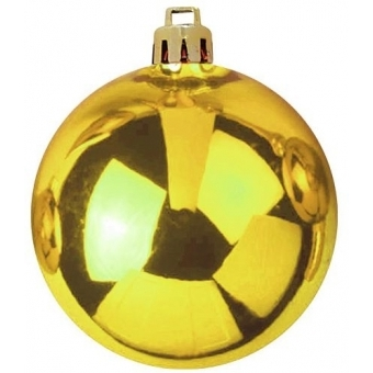EUROPALMS Deco Ball 10cm, gold 4x