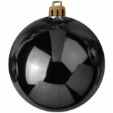 EUROPALMS Deco Ball 20cm, black