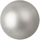 EUROPALMS Deco Ball 6cm, silver, metallic 6x