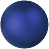 EUROPALMS Deco Ball 6cm, dark blue, metallic 6x