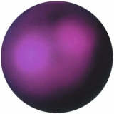 EUROPALMS Deko Ball 6cm, violet, metallic 6x