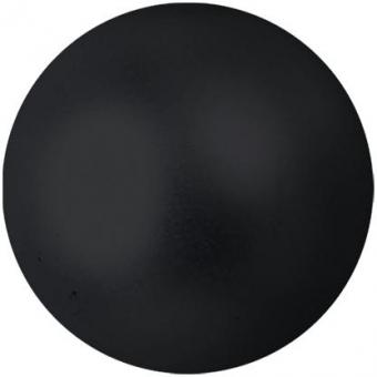 EUROPALMS Deco Ball 6cm, black, metallic 6x