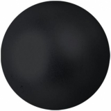 EUROPALMS Deco Ball 6cm, black, metallic 6x