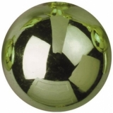 EUROPALMS Deco Ball 6cm, light green, shiny 6x