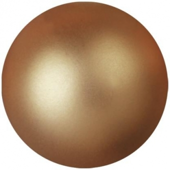 EUROPALMS Deco Ball 3,5cm, copper, metallic 48x #1