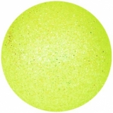 EUROPALMS Deco Ball 3,5cm, lemon, glitter 48x