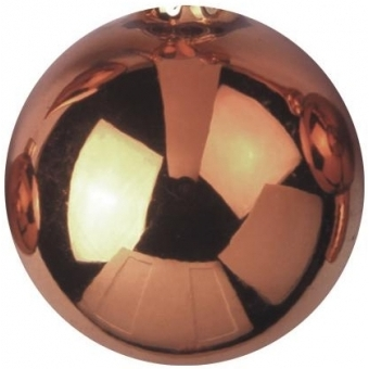 EUROPALMS Deco Ball 3,5cm, copper, shiny 48x #1