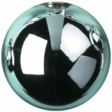 EUROPALMS Deco Ball 3,5cm,light blue, shiny 48x