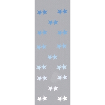 EUROPALMS Fleece banner, Star B1, 100x350cm