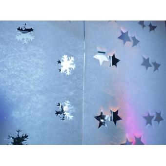 EUROPALMS Fleece banner, Star B1, 100x350cm #3