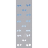EUROPALMS Fleece banner, Star B1, 100x350cm