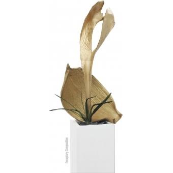 EUROPALMS Palm leaf, dried, gold #3