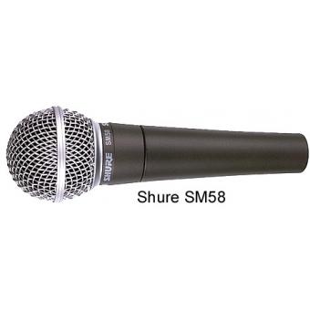 Microfon Vocal SHURE SM58-LCE (FARA SWITCH)