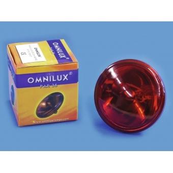 OMNILUX PAR-36 6.4V/30W G-53 VNSP red
