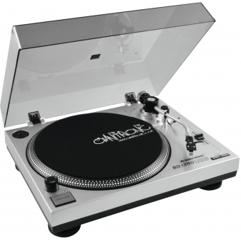 OMNITRONIC BD-1380 USB Turntable sil