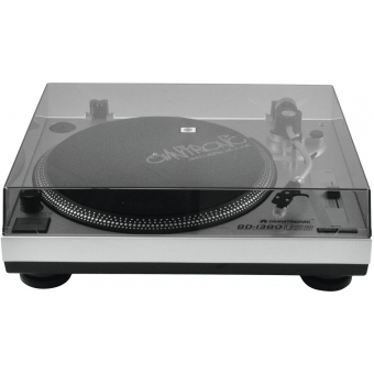 OMNITRONIC BD-1380 USB Turntable sil #4