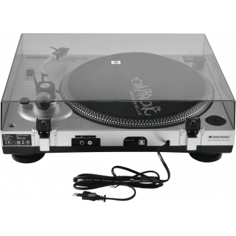 OMNITRONIC BD-1380 USB Turntable sil #5