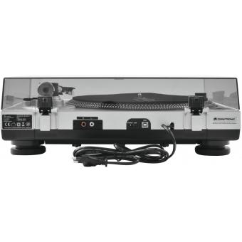 OMNITRONIC BD-1380 USB Turntable sil #6