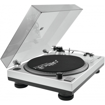 OMNITRONIC BD-1380 USB Turntable sil #7