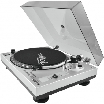 OMNITRONIC BD-1380 USB Turntable sil #8
