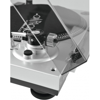 OMNITRONIC BD-1380 USB Turntable sil #9