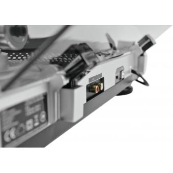 OMNITRONIC BD-1380 USB Turntable sil #10