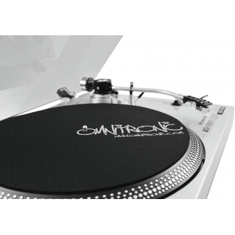 OMNITRONIC BD-1380 USB Turntable sil #14