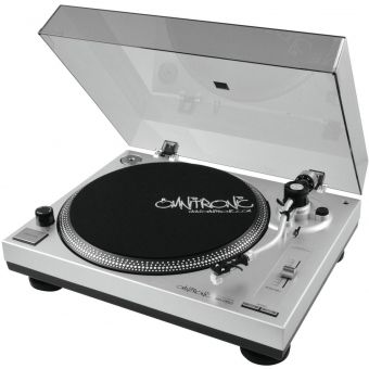 OMNITRONIC BD-1350 Turntable sil #2