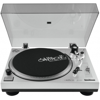 OMNITRONIC BD-1350 Turntable sil #3