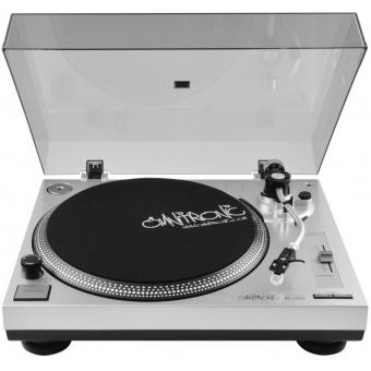 OMNITRONIC BD-1350 Turntable sil #3