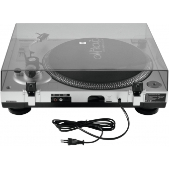 OMNITRONIC BD-1350 Turntable sil #5