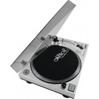 OMNITRONIC BD-1350 Turntable sil #7