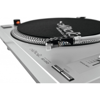 OMNITRONIC BD-1350 Turntable sil #12