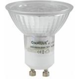 OMNILUX GU-10 230V 18 LED 6500K