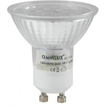 OMNILUX GU-10 230V 18 LED blue