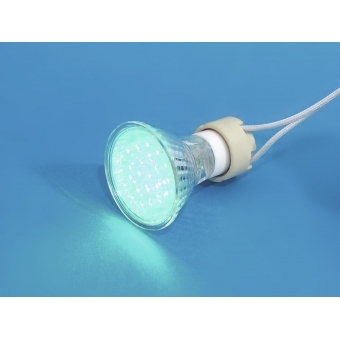 OMNILUX GU-10 230V 18 LED green #3