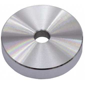 OMNITRONIC Puck Single Center Piece Aluminum silver