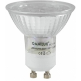 OMNILUX GU-10 230V 18 LED yellow